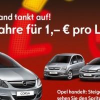 Opel tankt auf