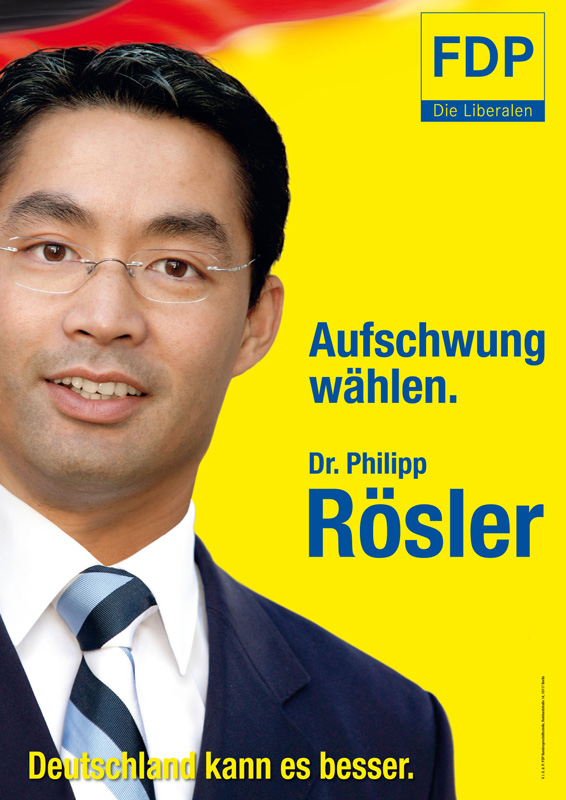 Wahlplakate Fdp