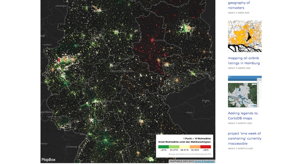 Screenshot: Nonvoter-Map